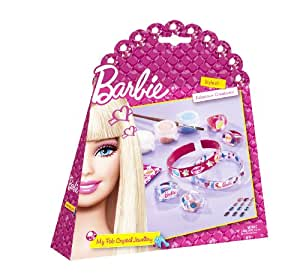 Totum - BJ500044 - Loisir Créatif - Barbie - Bijoux Cristal