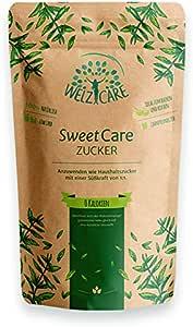sweetcare Zucchero Cristallo, 1kg, der Ricambio con erythritol e Stevia, l' Alternativa Naturale a Zucchero abnehmen Carb Dieta erylite erythrit Magnetica Calorie kohlenhydrate Low zuckerfrei