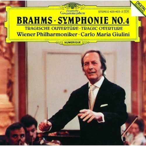 Brahms: Tragic Overture, Op.81 - Allegro non troppo - Molto più moderato - Tempo primo- un poco sostenuto - in tempo