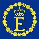Queen Elizabeth II persönlichen Insignia Flagge Aufkleber