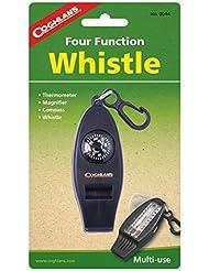 Coughlan's Four Function Whistle - Silbato, color negro