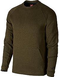 Sudadera Nike – Sportswear Tech Fleece verde/negro talla: S (Small)