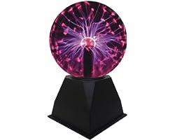 Lumière de Boule de Plasma, Lampe de Sphère d'ion de Boule Sensible Sensible au Toucher de 5 pouces Lumières de Nuit de Nouve
