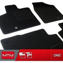 Alfombrillas Lancia Voyager desde 11.2011- Alfombra a medida para coche MTM One en moqueta negra
