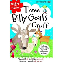 Three Billy Goats Gruff (Reading with Phonics) by Clare Fennell (2013-09-01)