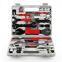 FEMOR Kit de Herramientas para Bicicleta, Juego Práctico de 48 Piezas con Multifunción para Reparación y Montaje de Bicicleta, con Maletín