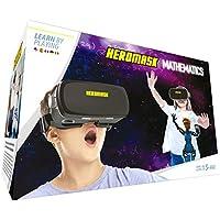 Gafas VR + Juegos. Aprender Matematicas niños [sumar y restar calculo mental...] Gafas 3D realidad virtual [Regalo Original] Juguetes Comunion - Navidad. Regalos para niños y niñas 5 6 7...12 años