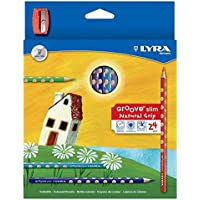 Lyra L2821240 - Astuccio 24 Pastelli Groove Slim
