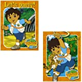 Go Diego Go Invitations and Thank You Combo (8 each) by Amscan