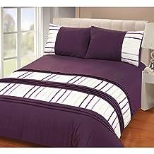 housse de couette violet. Black Bedroom Furniture Sets. Home Design Ideas