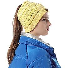 HORSE SECRET Cappello Sciarpa Anello in Maglia Invernali da Donna - Berretto  Beanie Sciarpa Loop Knit 35c802a7fafb