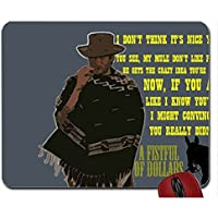 B Animals movies quotes clint eastwood horses western a fistfull of dollars 1964 sergio leone spaghetti westermouse pad computer mousepad