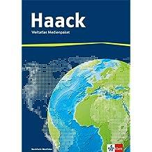 Der Haack Weltatlas - Ausgabe Nordrhein-Westfalen: Weltatlas Medienpaket (inkl. Übungssoftware auf CD-ROM und Arbeitsheft Kartenlesen mit Atlasführerschein)