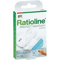 Ratioline protect Gelpflaster gross 4 stk preisvergleich bei billige-tabletten.eu