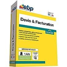 EBP Devis & Facturation Classic 2017 + VIP + offre Satisfait ou remboursé