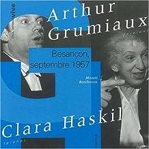 Récital Haskil / Grumiaux, Mozart, Beethoven, Besançon 1957