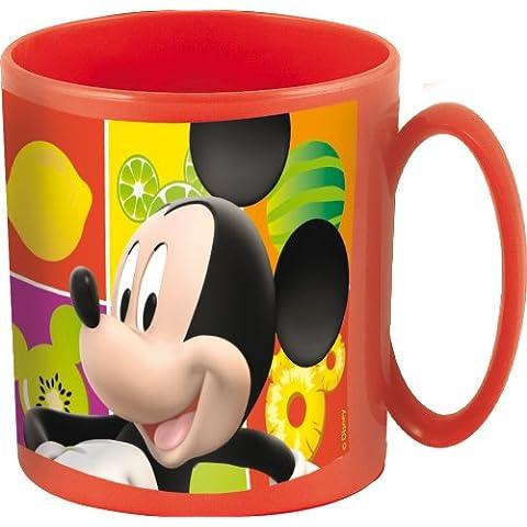 Stor 36004 - Taza para microondas, 36 cl, diseño Mickey Fruits