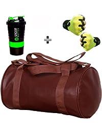 bdae33a2784e 5 O  CLOCK SPORTS Gym Bag Combo Set Enclosed With Soft Leather Gym Bag For