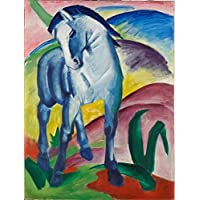 Franz Marc - Blue Horse - Medium