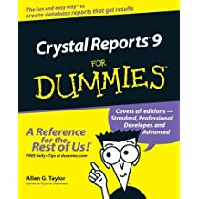 Crystal Reports 9 For Dummies by Allen G. Taylor (2002-09-12)