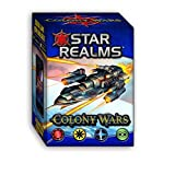 White Wizard Games WWG011-EN - Star Realms Deckbuilding Spiel, Colony Wars - Englisch