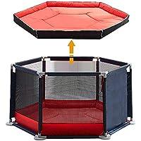Star Ibaby Parque de Bebés Ultraligero Oxford + Nueva Alfombra Soft Diseño Antideslizante.