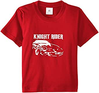 Touchlines Kinder T-Shirt Knight Rider, red, 110/116, KID135