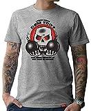 HARIZ  Herren T-Shirt Papa Collection 36 Designs Wählbar Grau Urkunde Papa19 Leben Nach Dem Tod XL