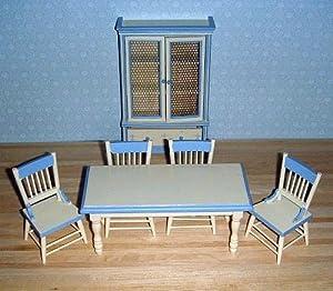 LA Mueble para casa de muñecas en Miniatura - Comedor en Miniatura 1/12