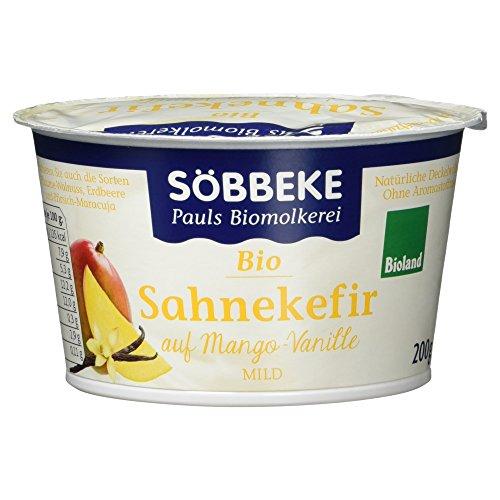 Söbbeke Bio Sahnekefir auf Mango-Vanille mild, 200 g Test
