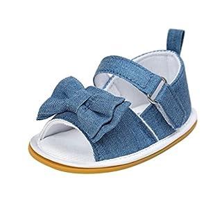 Baby Schuhe Auxma Baby-Jungen-Mädchen casual Sandalen Kleinkind Scrub erste Wanderer Kinder Schuhe für 0-6 6-12 12-18 Monat (6-12 M, D)