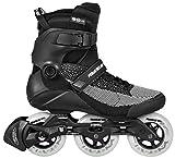 Powerslide Swell Lite Black 100 Trinity Fitness Inline Skates schwarz schwarz-türkis, 36-37