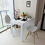 Mesa plegable Mesa de pared plegable Taburete de hojas abatibles Cocina Mesa de comedor Mesa de...