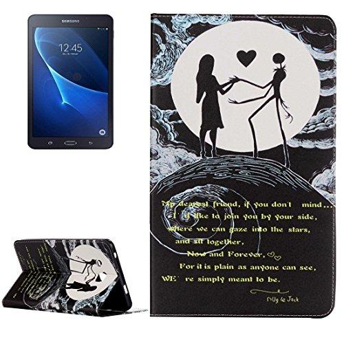 Wkae Case Cover Per Samsung Galaxy Tab A Case Rosa