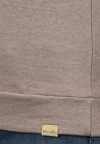 Blend She Kim Damen Sweatshirt Pullover Sweater Mit Rundhalsausschnitt, Größe:S, Farbe:Misty Rose Melange (20204) - 4
