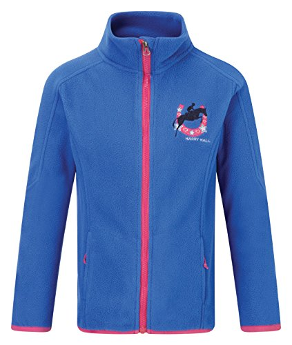 harry-hall-felpa-in-pile-bambina-emley-blu-blau-cobalt-rose-pink-3-4-anni