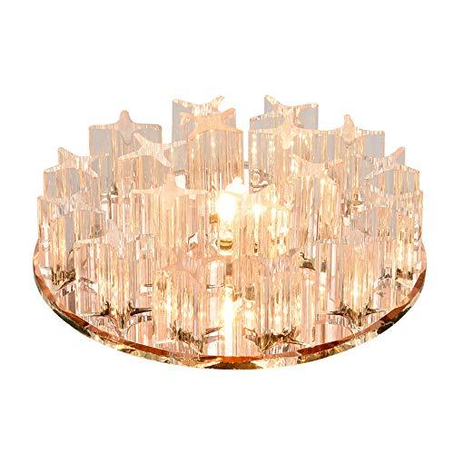 EinbauleuchtenledEinbauleuchte Runder Kreatives Gang Foyer Lichter5WWarme Licht Deckenleuchte - Foyer Lichte Höhe