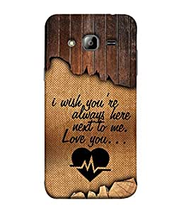 PrintVisa Designer Back Case Cover for Samsung Galaxy J7 J700F (2015) :: Samsung Galaxy J7 Duos (Old Model) :: Samsung Galaxy J7 J700M J700H (Love Lovely Attitude Men Man Manly)
