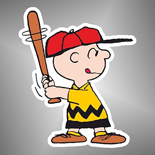 Aufkleber - Sticker Charlie Brown Linus Peanuts Snoopy Comics Cartoon