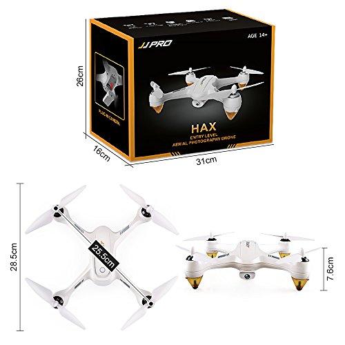 Cewaal X3 Drohne mit 1080P Kamera und GPS Rückkehr nach Hause,WiFi Kamera Echtzeit-Übertragung,Brushless Motor,CE-Zertifizierung,EIN Schlüssel Return Geomagnetic Korrektur Antenne Drohne für Erwa
