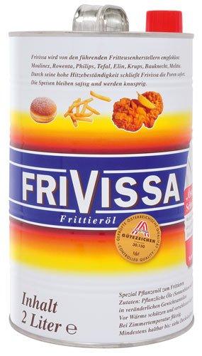 2x Frivissa - Spezial Frittieröl - 2000ml - Frittieröl