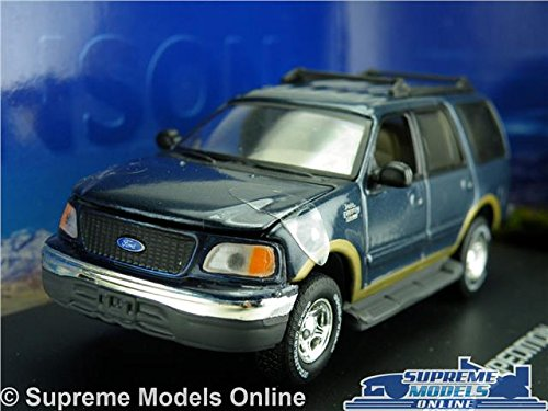 ford-expedition-model-car-143-size-anson-80804-blue-4x4-american-usa-us-k8