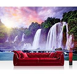 Liwwing - No, 247 papel pintado de papel pintado con diseño de bosque de árboles de madera cuadro de imagen de la foto de la cascada de tailandia de lago de agua