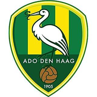 Ado Den Haag FC Netherlands Soccer Football Car Bumper Sticker Decal 10 x 12 cm