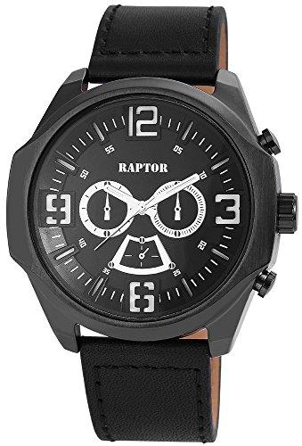 Raptor 297871000029–Uhr für Männer schwarz