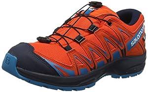 calzado: Salomon XA Pro 3D CSWP J, Calzado de Trail Running Impermeable para Niños, Rojo ...