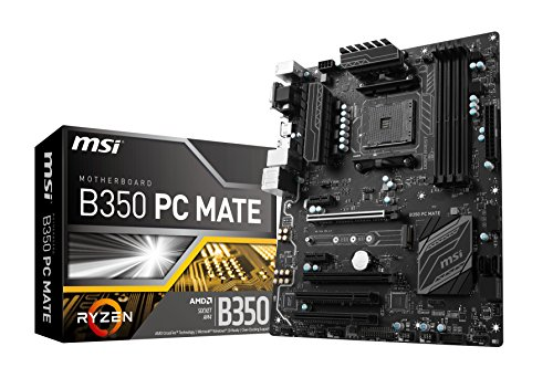 MSI B350 PC Mate Carte mère AMD HDMI