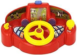 sam le pompier s1130 jeu educatif electronique camion de pompier avec volant. Black Bedroom Furniture Sets. Home Design Ideas