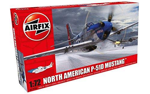 Airfix A01004A Modellbausatz North American P-51D Mustang, Spiel