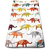 ewtretr Toallas De Mano, Circus Elephant Cool Towel Beach Towel Instant Cool Ice Towel Gym